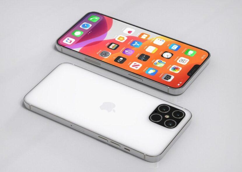 Белые Iphone 12