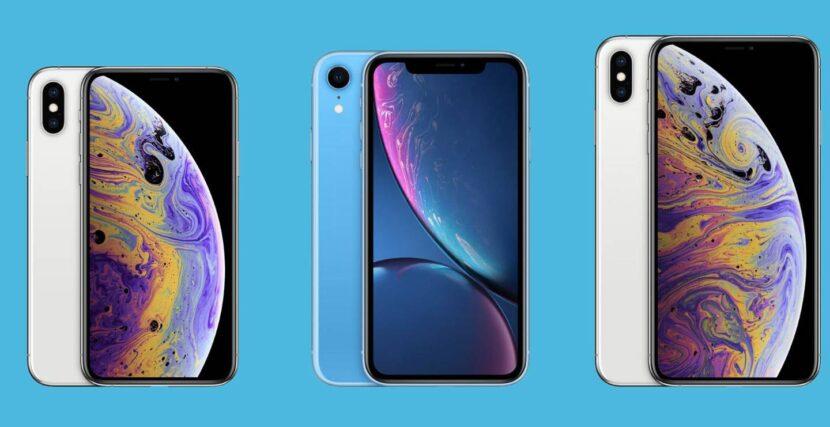 iPhone XR и iPhone XS, XS Max