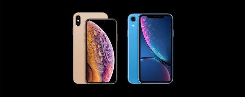iPhone XR и iPhone XS
