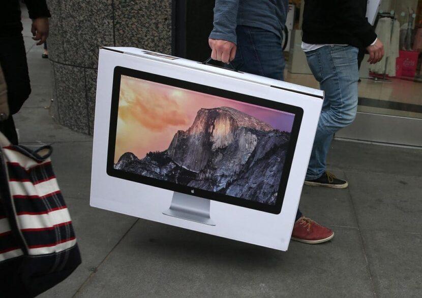 iMac 27-inch (2020) в коробке