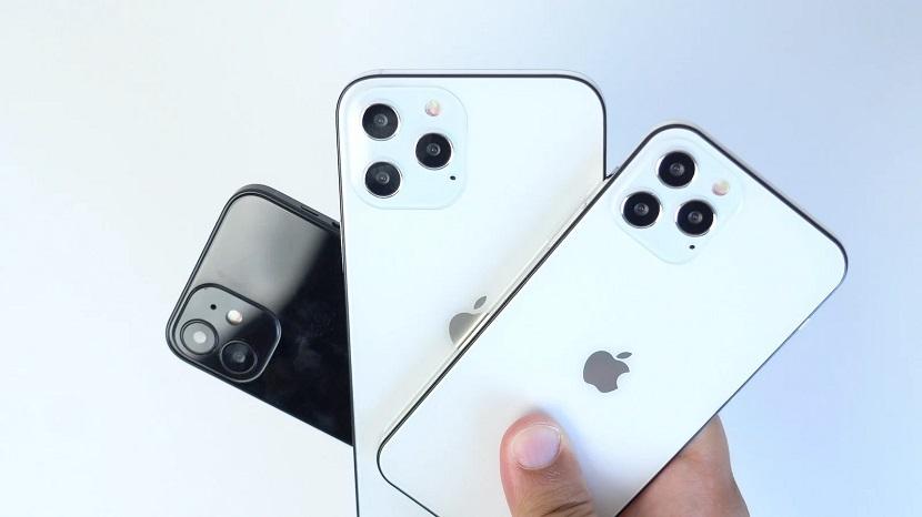 Белый и черный Iphone 12