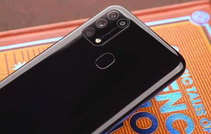 Samsung Galaxy M31s черный