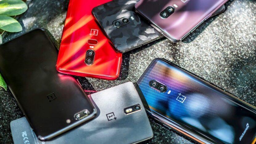 oneplus-6t 6 смартфонов