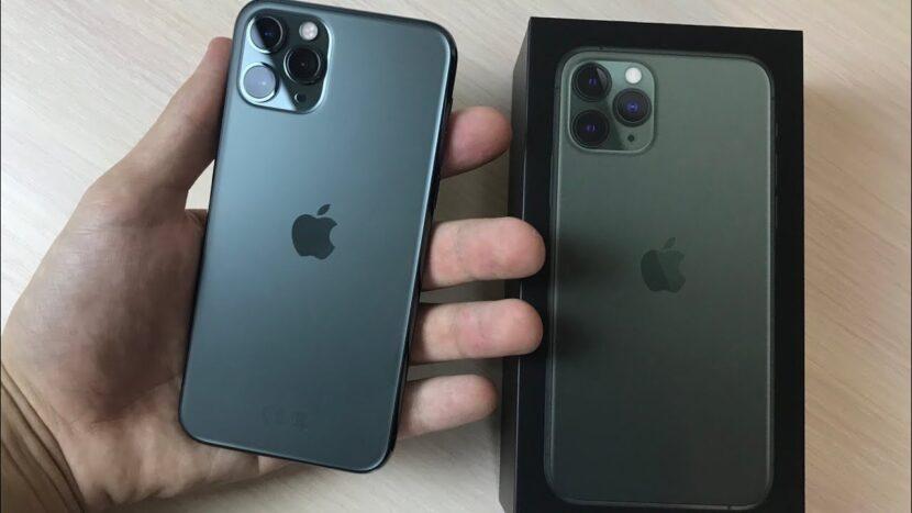 iPhone 11 Pro черный и коробка