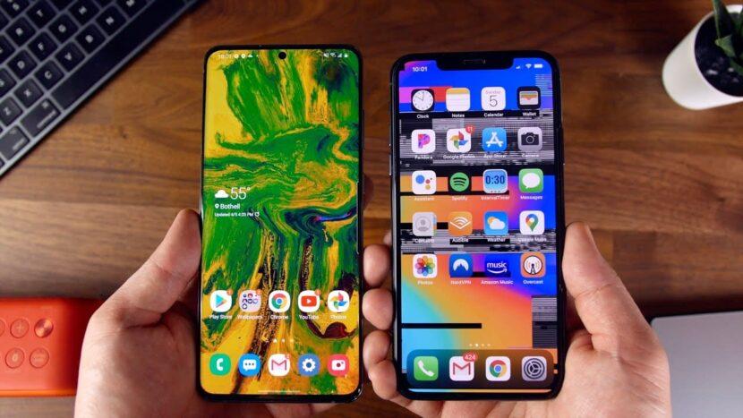 Galaxy S20 Ultra и iPhone 11 Pro Max