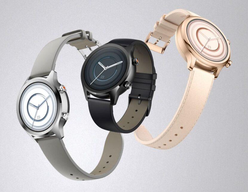 Умные часы Mobvoi TicWatch C2+ в трех различных исполнениях