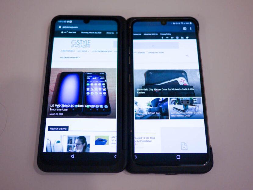 Смартфон LG V60