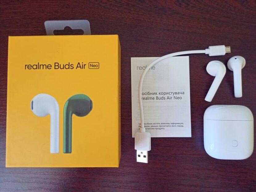 Распаковка наушников Realme Buds Air