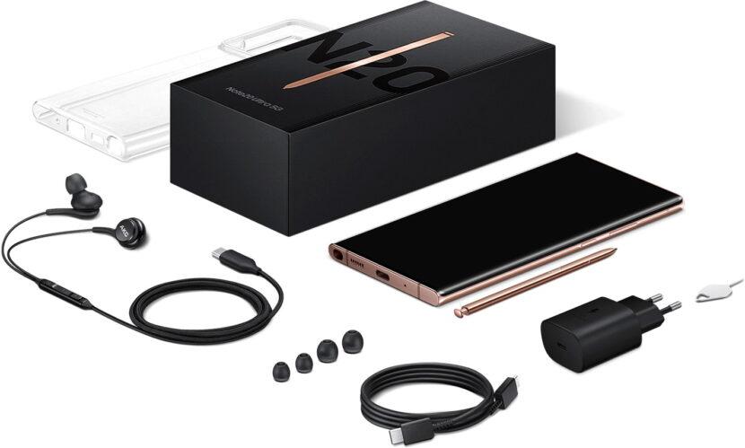 комплект Galaxy Note 20 ultra