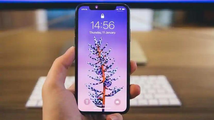 Iphone 12 в руке