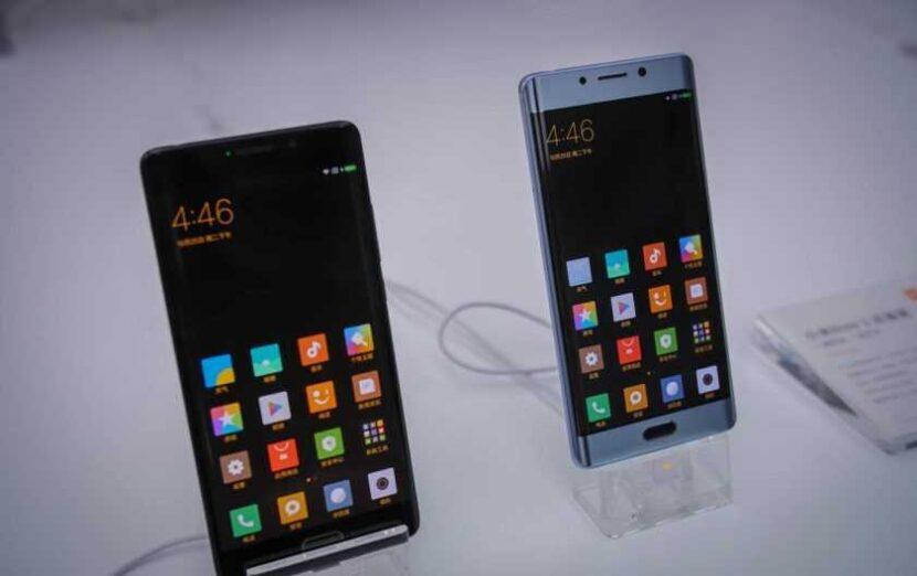 Xiaomi черный и серый