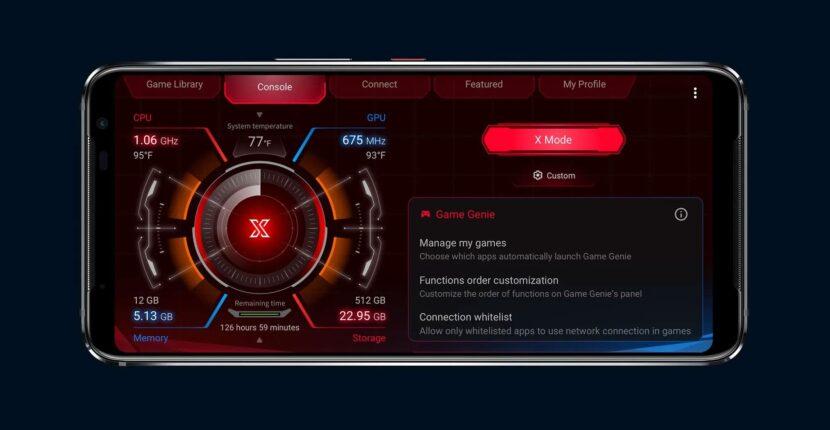 X-Mode на смартфоне ASUS ROG Phone 3