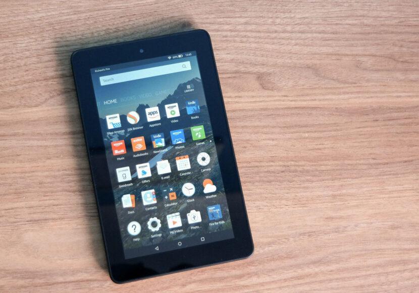 Amazon Fire 7 дисплей