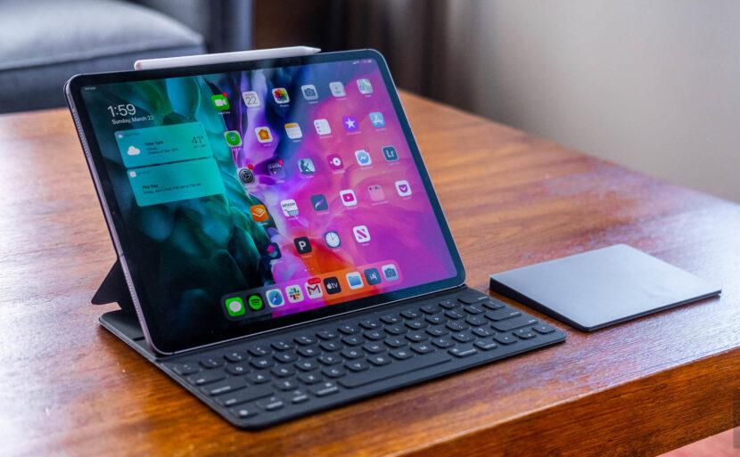 iPad Pro дисплей планшета