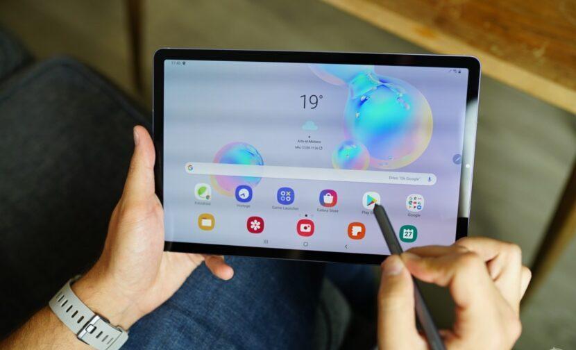 Samsung Galaxy Tab S7 дисплей