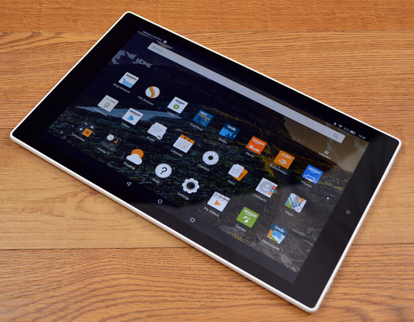 Amazon Fire HD 10 дисплей