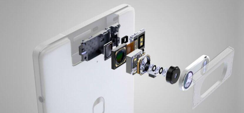 Внутреннее устройство типичной камеры смартфона