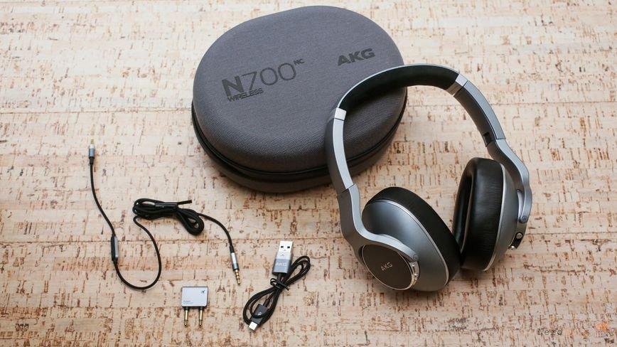 Распаковка AKG N700NC