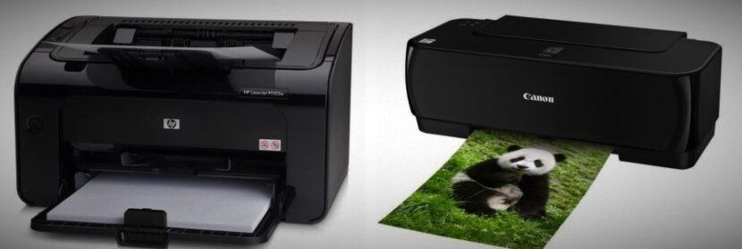 Сравнение принтеров HP и Canon