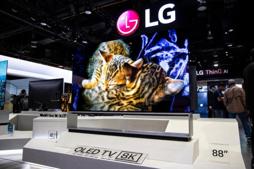 телевизор LG Z9 8K OLED