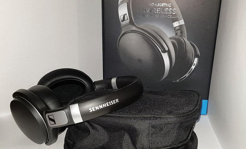 Распаковка Sennheiser HD 4.50 BTNC