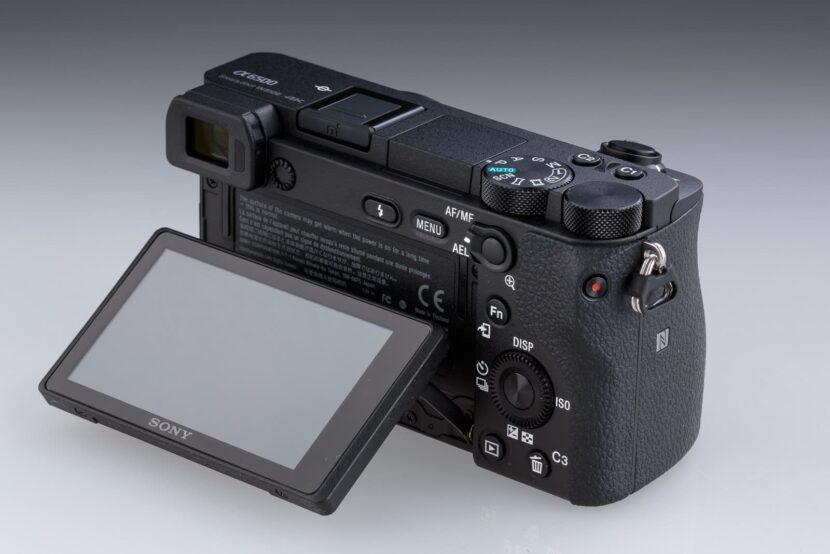 фотоаппарат - показ экрана