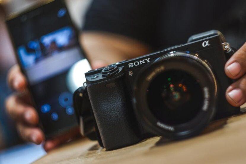 передача фото с камеры на смартфон