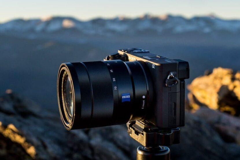 фотоаппарат сони на природе