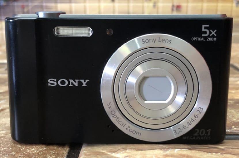 Черный Sony CyberShot DSC W830