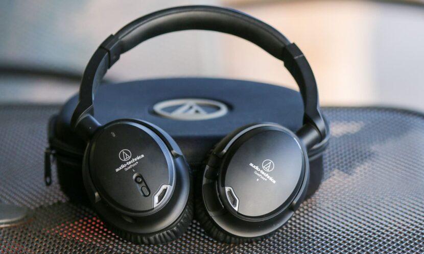 Audio-Technica ATH-ANC9 и чехол от них