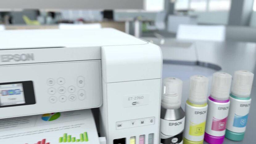Белый Epson EcoTank Pro ET-5850