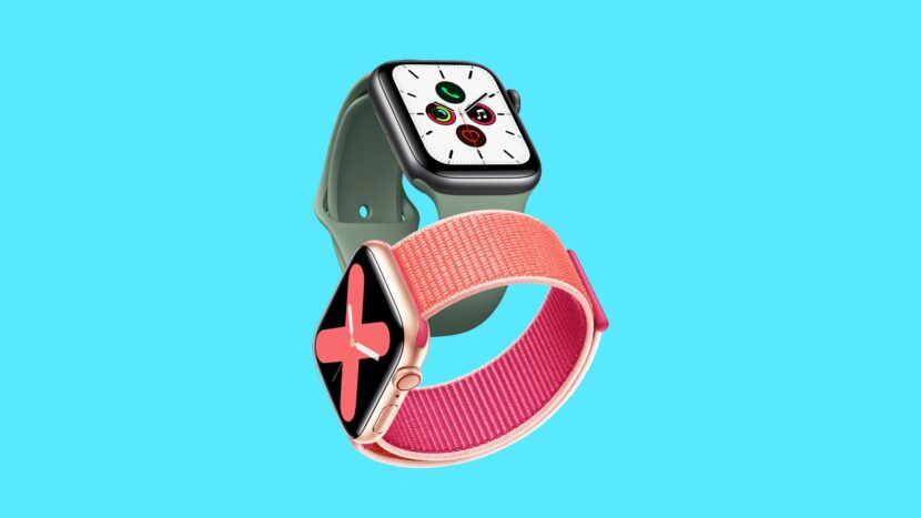 серые и розовые часы на голубом фоне
