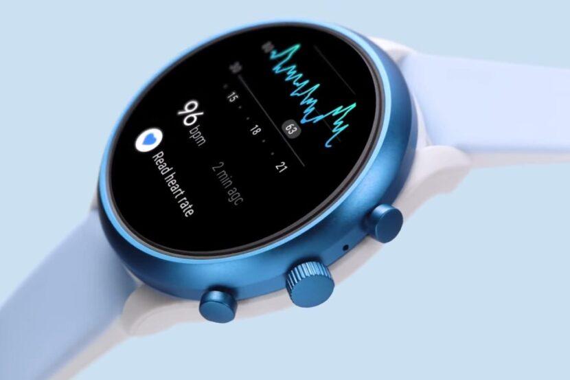голубые смарт часы