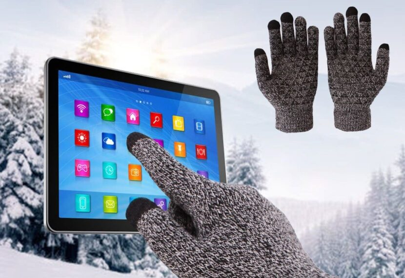 Сенсорные перчатки Achiou Winter Warm Touchscreen Gloves