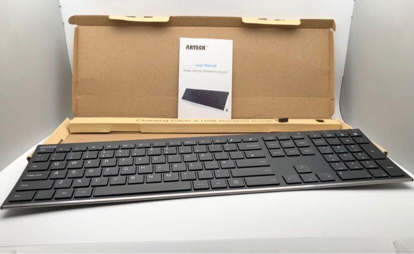 Беспроводная клавиатура Arteck 2.4 G в коробке