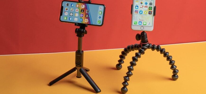 iphone tripods