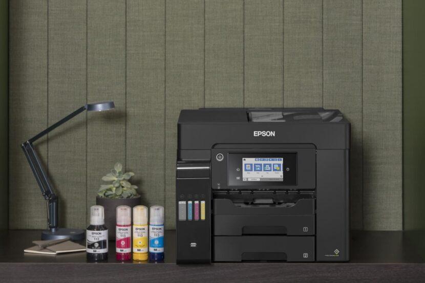 Epson EcoTank Pro ET-5850 и чернила