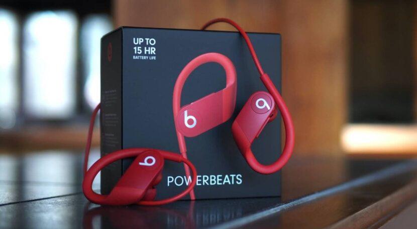 Распаковка Beats Powerbeats 4