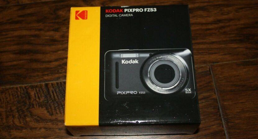 Распаковка Kodak PixPro FZ43