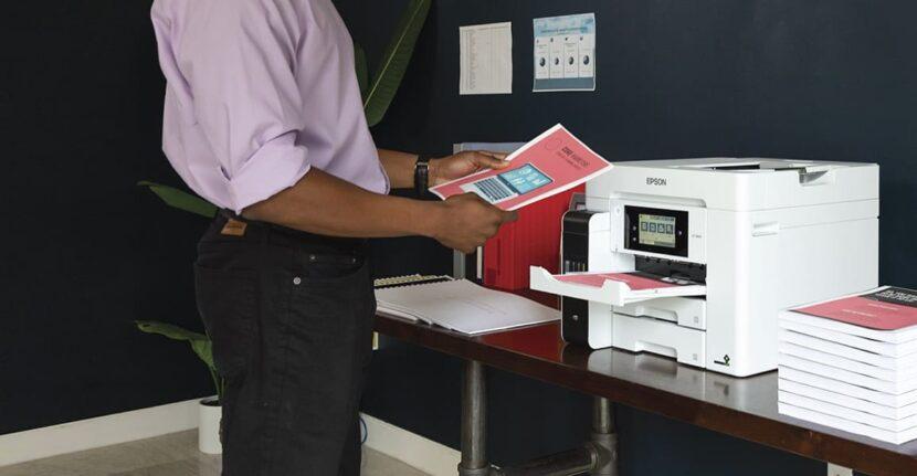 Работа с белым Epson EcoTank Pro ET-5850