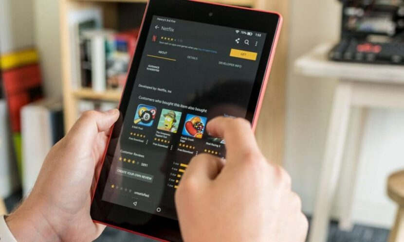 Amazon Fire HD 8 устройство на андроиде