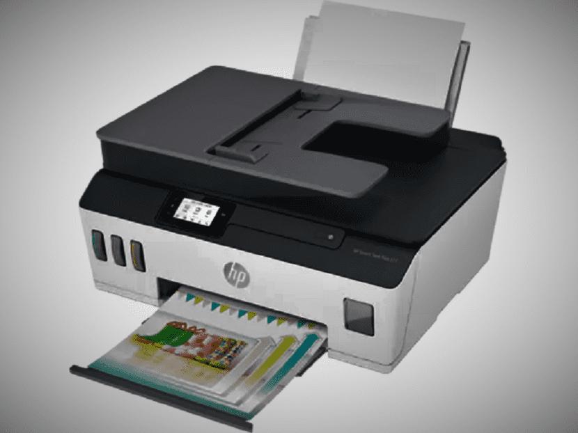 Печать на HP Smart Tank Plus 651