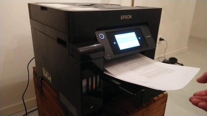 Печать на Epson EcoTank Pro ET-5850