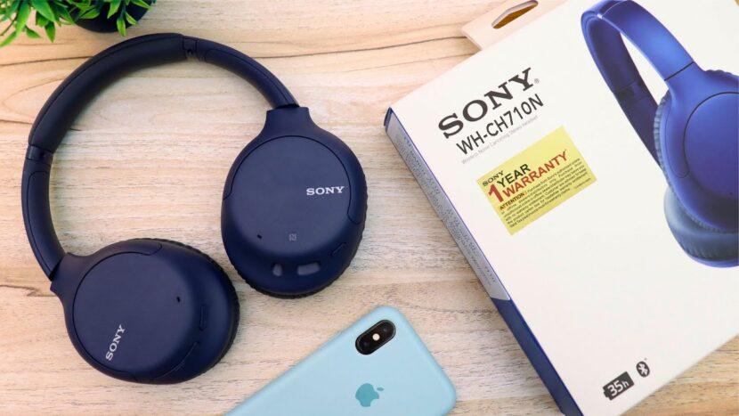 Распаковка Sony WH-CH710N