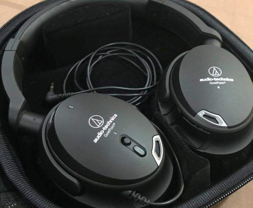 Распаковка Audio-Technica ATH-ANC9