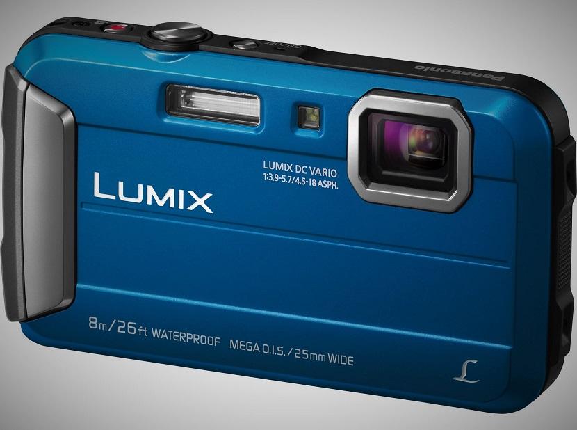 Синий Panasonic Lumix DMC-TS30