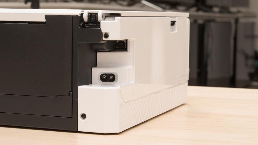 Задняя сторона белого Белый Canon Pixma TS8320