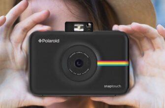 Черный Polaroid Snap