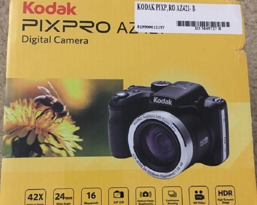Упаковка Kodak PixPro AZ421