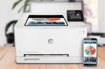 Белый принтер от HP